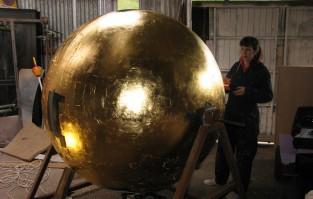 gold ball copy