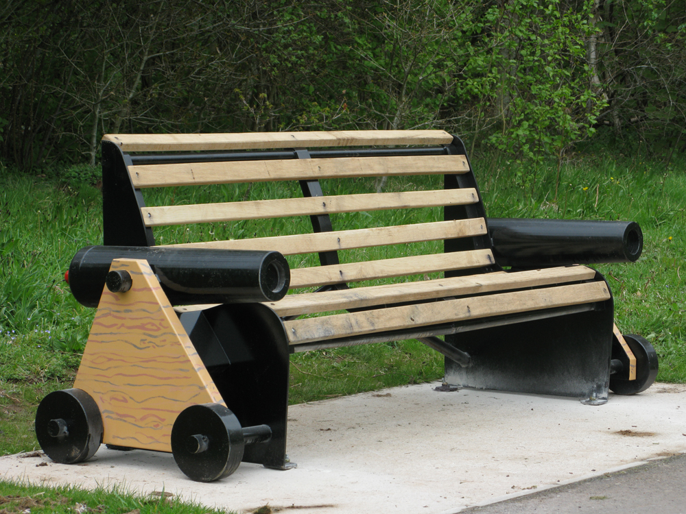 Cannon bench 2