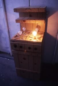 Wooden Cooker